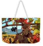 Autumn In The Wine Country Weekender Tote Bag