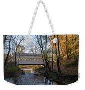 Autumn In Valley Forge - Knox Covered Bridge Weekender Tote Bag