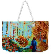 Autumn In Westmount Weekender Tote Bag