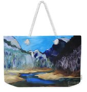 Autumn In Yosemite Weekender Tote Bag