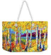 Autumn Jewels Weekender Tote Bag