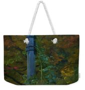Autumn Lamp Weekender Tote Bag