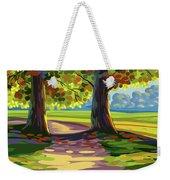 Autumn Landscape Weekender Tote Bag