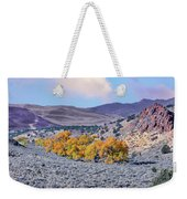Autumn Landscape In Northern Nevada. Weekender Tote Bag