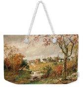 Autumn Landscape Weekender Tote Bag by Jasper Francis Cropsey