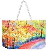 Autumn Lane Iv Weekender Tote Bag