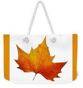 Autumn Leaf 1 Weekender Tote Bag