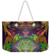 Autumn Leaf Delight Weekender Tote Bag