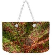 Autumn Leaf Detail Weekender Tote Bag
