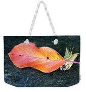 Autumn Leaf In August Weekender Tote Bag