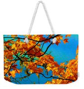 Autumn Leaves 7 Weekender Tote Bag