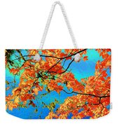 Autumn Leaves 8 Weekender Tote Bag