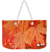 Autumn Leaves Art Prints Orange Fall Leaves Baslee Troutman Weekender Tote Bag