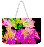 Autumn Leaves Holiday Style Weekender Tote Bag