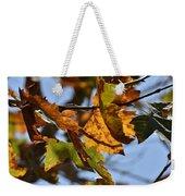 Autumn Leaves Macro 1 Weekender Tote Bag