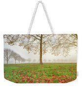 Autumn Leaves Near To Far Super High Resolution Weekender Tote Bag