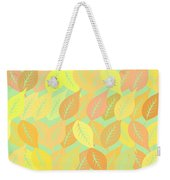 Autumn Leaves Pattern Weekender Tote Bag