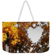 Autumn Love  Weekender Tote Bag