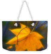 Autumn Maple Leaf Weekender Tote Bag
