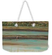 Autumn Marsh And Bird Weekender Tote Bag