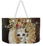 Autumn Mask Weekender Tote Bag