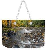 Autumn Meander Weekender Tote Bag