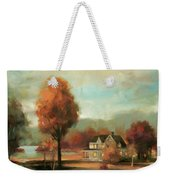 Autumn Memories Weekender Tote Bag