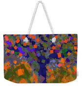 Autumn Message Tree Weekender Tote Bag