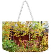 Autumn Michigan Barn  Weekender Tote Bag