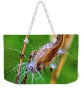 Autumn Milkweed 7 Weekender Tote Bag