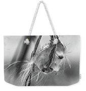 Autumn Milkweed 9 - Bw Weekender Tote Bag