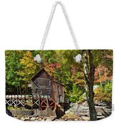 Autumn Mill 2 Weekender Tote Bag