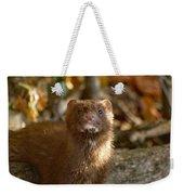 Autumn Mink Weekender Tote Bag