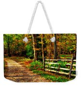 Autumn Moment - Allaire State Park Weekender Tote Bag