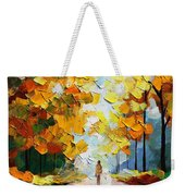 Autumn Mood Weekender Tote Bag