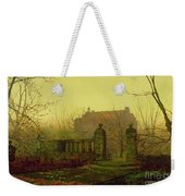 Autumn Morning Weekender Tote Bag by John Atkinson Grimshaw