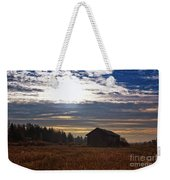Autumn Morning On The Fields Weekender Tote Bag