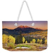 Autumn Mountain Landscape, Colorado, Usa Weekender Tote Bag