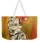 Autumn Muscovy Portrait Weekender Tote Bag