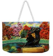Autumn Music Weekender Tote Bag