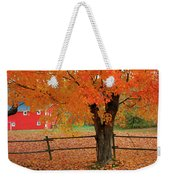 Autumn Near New Germany, Nova Scotia Weekender Tote Bag