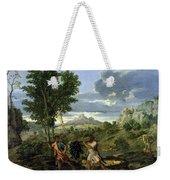 Autumn Nicolas Poussin Weekender Tote Bag