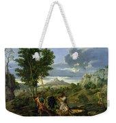 Autumn Weekender Tote Bag by Nicolas Poussin