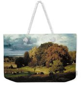 Autumn Oaks , George Inness Weekender Tote Bag