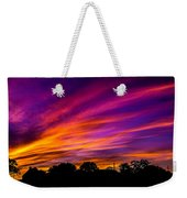 Autumn On Fire  Weekender Tote Bag