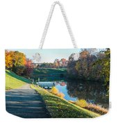 Autumn On Lake Inspiration Weekender Tote Bag