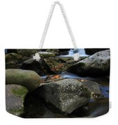 Autumn On Little River In The Smoky Mountains Weekender Tote Bag