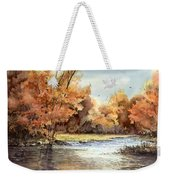 Autumn On The Buffalo Weekender Tote Bag