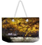 Autumn On The Cove Weekender Tote Bag