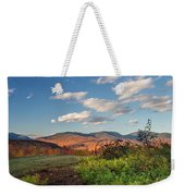 Autumn On The Farm Panorama Weekender Tote Bag